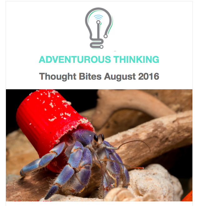 Adventurous Thinking Innovation Strategy